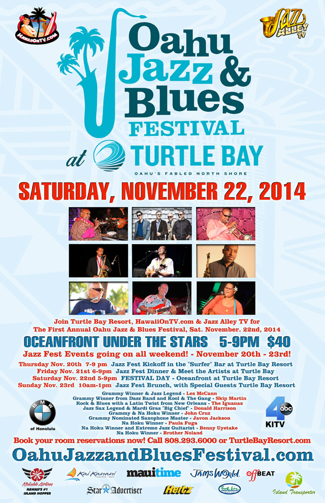 Oahu Jazz & Blues