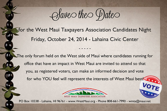West Maui Tax Payers Association