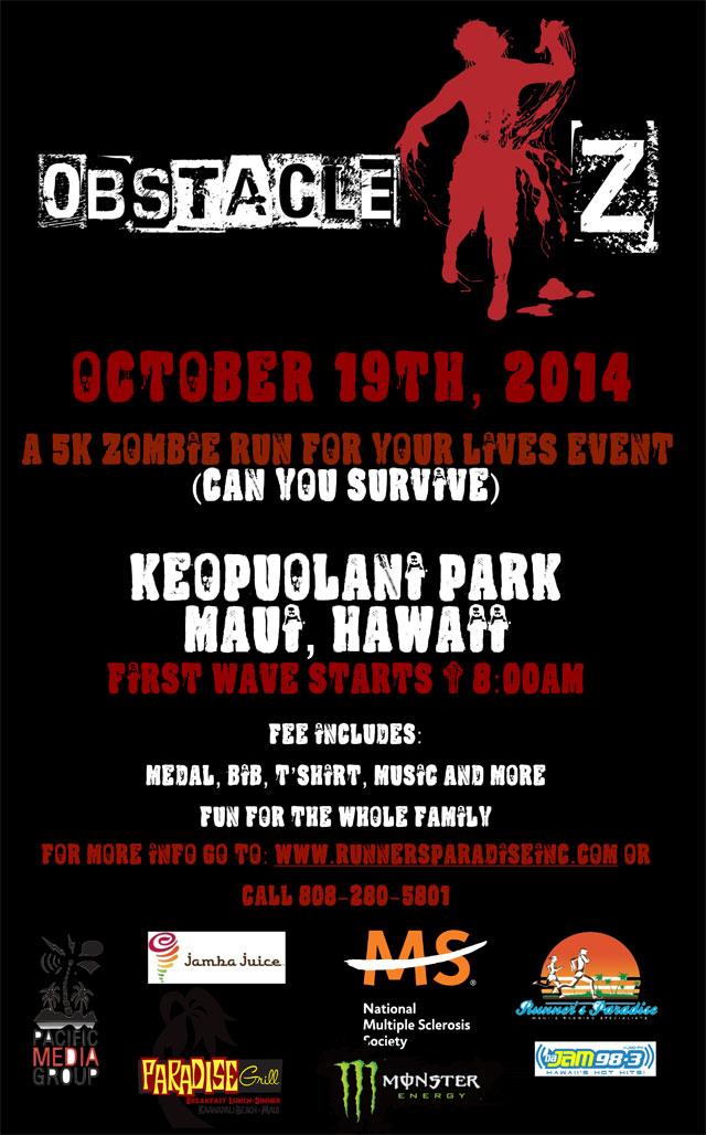 Maui Zombie Run 2014