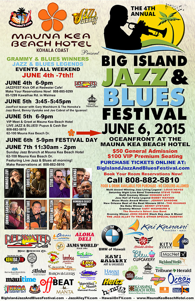 Big Island Jazz Blues 2015