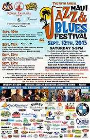 Maui Jazz and Blues Festival 2015