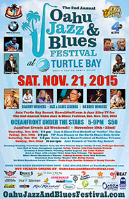 Oahu Jazz and Blues Festival 2015