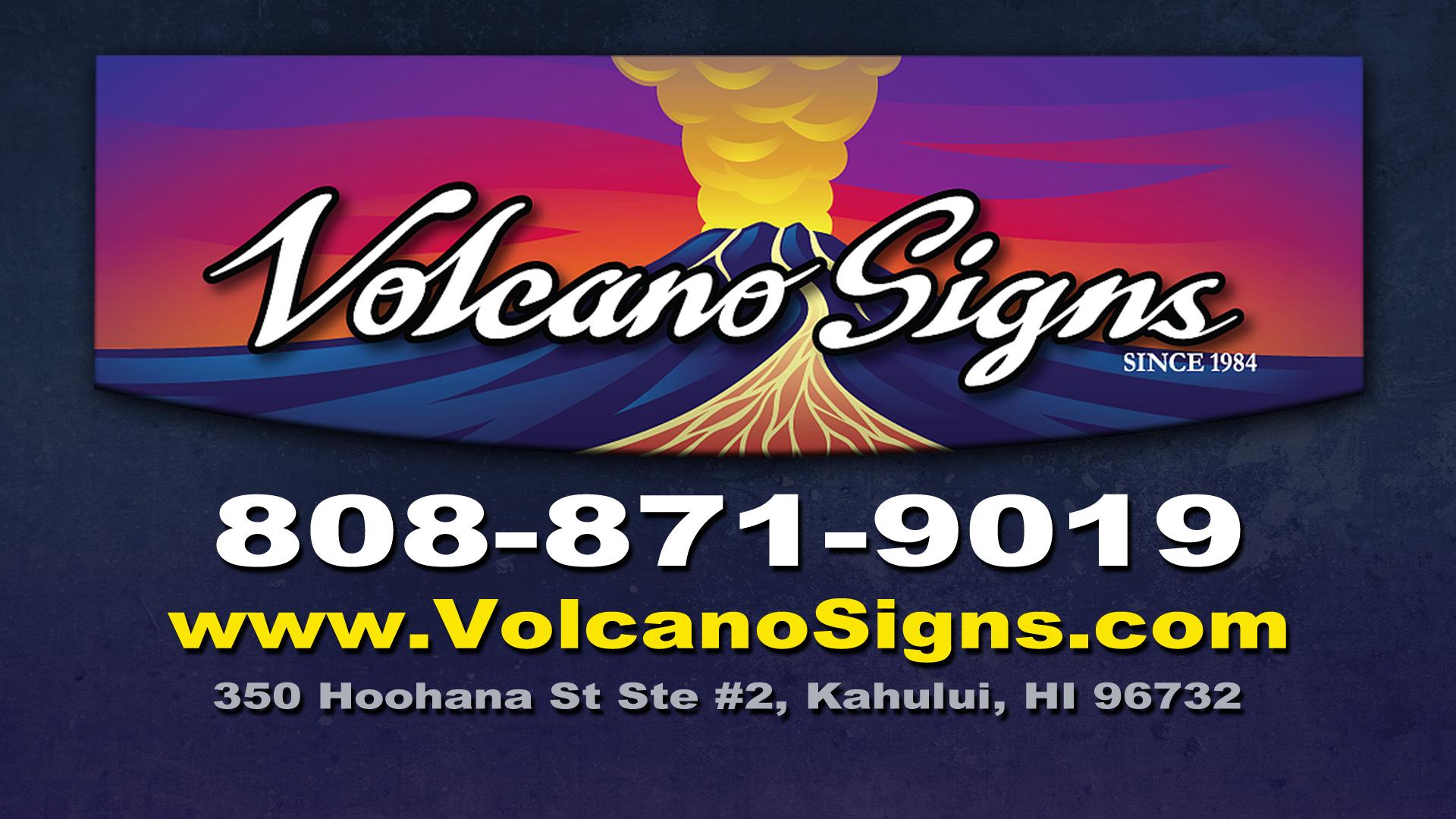 Vocalno Signs Maui