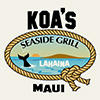 Koa's Seaside Grill - Lahaina Maui, Hawaii
