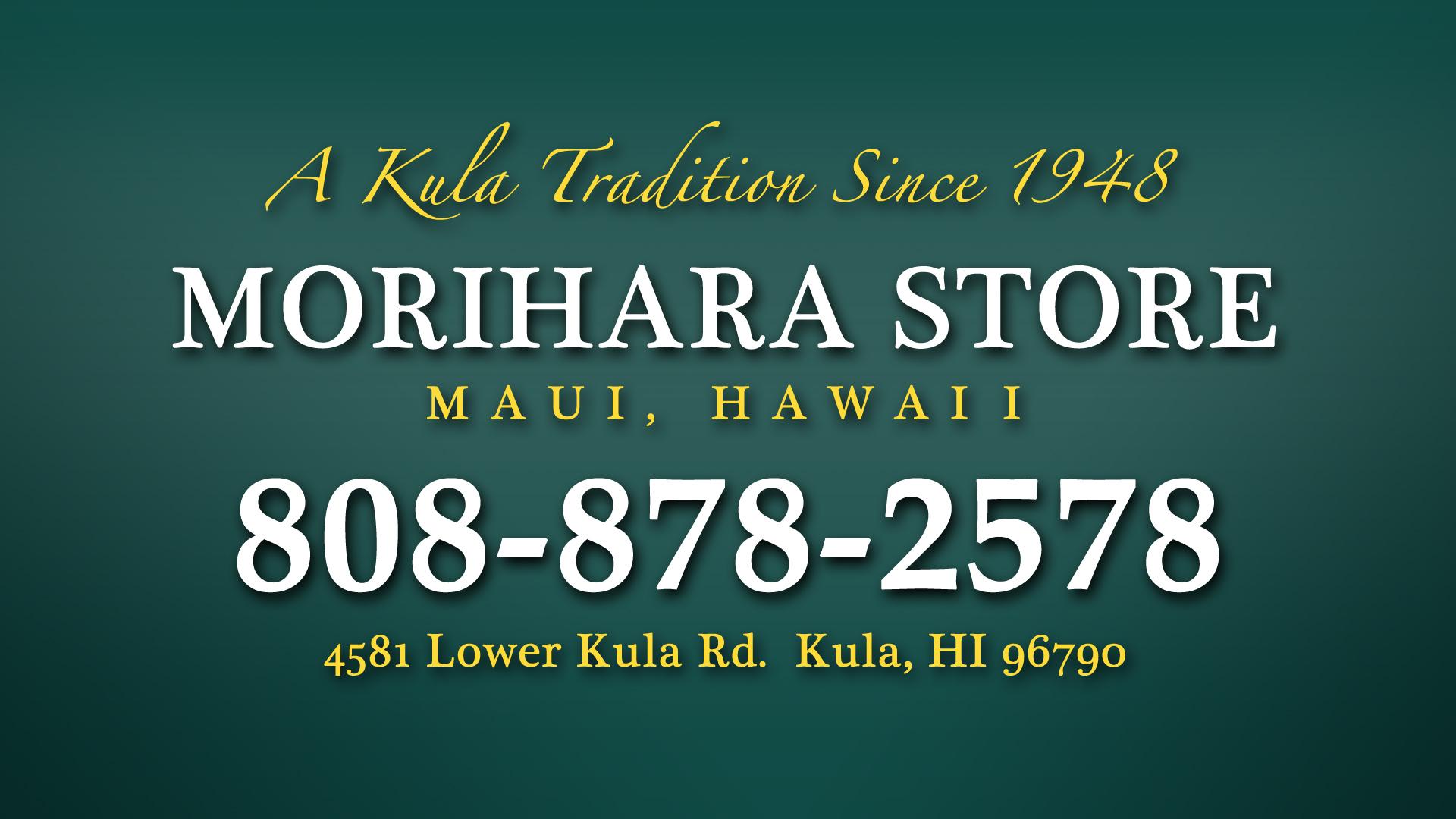 Morihara Store Maui