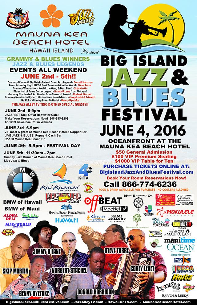 Big Island Jazz 2016