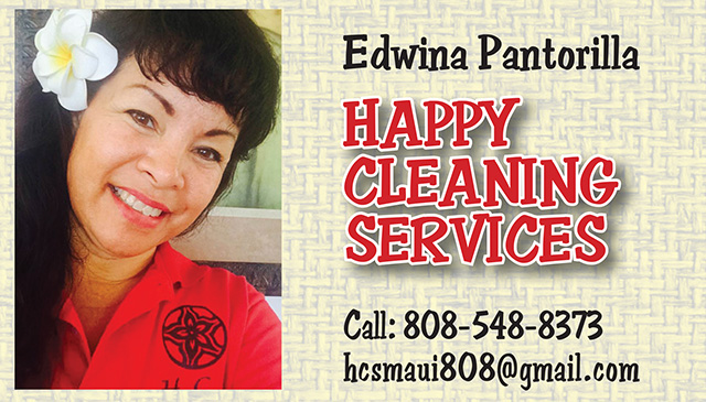 Happy Cleaning Services Maui
