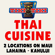 Tiki Tiki Thai Cuisine Maui