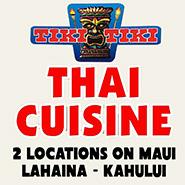 Tiki Tiki Thai Cuisine Maui