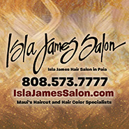 Isla James Hair Salon - Paia Maui Hawaii